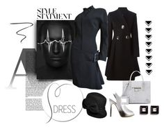 """Gunmetal Gray"" by michelletheaflack ❤ liked on Polyvore featuring STELLA McCARTNEY, Balenciaga, Thierry Mugler, Giuseppe Zanotti, Betmar, Givenchy, Charlotte Tilbury and longsleevedress"