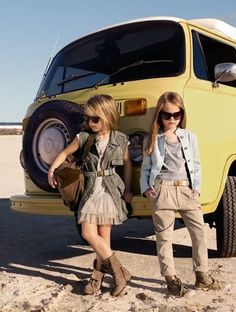 Quinoa and her BFF Chevron like to drive in vintage cars out to the desert, park them, and take a bunch of pictures looking pissed off.
