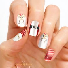 Check out Color Street's new holiday design, Bring Your Sleigh Game! Get festive and top your tips with Santa and the team! Each set includes 16 double-ended nail polish strips. Holiday Nail Designs, Holiday Nail Art, Nail Art Designs, Dry Nail Polish, Nail Polish Strips, Linda Nails, Vip Nails, Glam Nails, Christmas Nail Polish