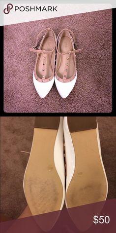 ‼️sale‼️BCBG rock stud flats Barely worn BCBG Shoes Flats & Loafers
