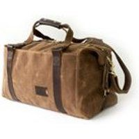 495 Men S Weekender Bag Personalized Duffle In Brown Waxed Canvas Carry On Travel Gift For Him Made Usa