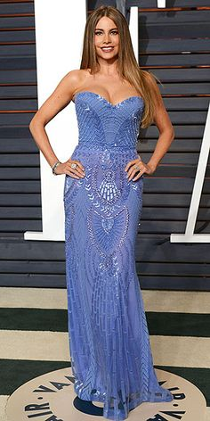 All the Oscars Dresses You Didn't See | SOFIA VERGARA | Just because this is an afterparty-only dress doesn't mean that Sofia takes things easy. She tops a beaded strapless Zuhair Murad number with $1.5 million of Neil Lane diamonds.