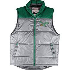 Philadelphia Eagles Mitchell & Ness Throwback Winning Team Vest
