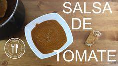 SALSA DE TOMATE CASERA Ingredientes:  - 500 gr de Tomate Triturado - Zanahoria - Cebolla - Sal - Oregano - Albahaca - Ajos - Aceite de Oliva - Agua - Miel