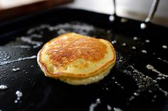 Edna Mae's Sour Cream Pancakes - Pioneer Woman  Made these to use up leftover sour cream--best decision!  These were yummy!!