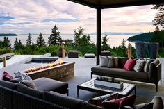 Overlooking English Bay with vistas of UBC and Vancouver Island, this West Vancouver, BC, Canada home embraces all four elements to create a lifestyle of tranquility within the hustle...
