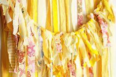 Fabric garland.