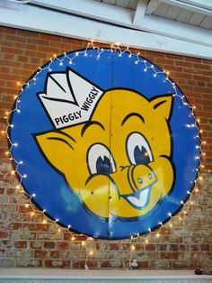 Piggly Wiggly grocery store!  I remember the Piggly Wiggly in Odessa, Texas!  Would ride my bike miles and go to PW.  I would clip all kinds of coupons, and they cashed them and gave me cash without making purchases.  Can't do that today.