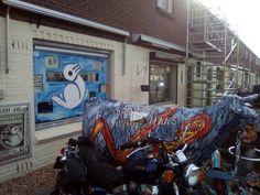 edison39.nl #Garageverkoop #Eindhoven #040 #Vintage #Antiek #Kunst #Design: De schilders krijgen een live preview :-)
