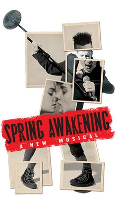 Spring Awakening - a great musical, introduced to me by fellow pinner, Jen Li