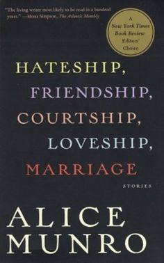 alice munro hateship friendship - Google Search