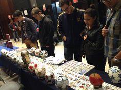 Los asistentes al evento de cine, previamente pasaron por nuestra colección y pudieron apreciarla / #sports #soccer #fútbol #colección #soccerfan