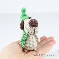 Little doggy Pattern Amigurumi Crochet Toy  PDF Pattern