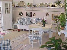 Wide range of Swedish style interiors