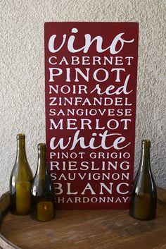 A Diamond in the Stuff: Wine Subway Art & Wine Bottle Hurricanes