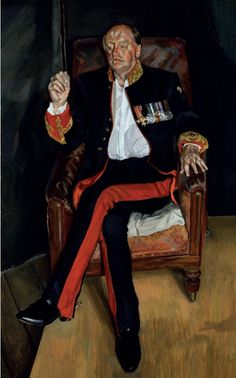 Lucian Freud (1922-2011), The Brigadier, 2003-2004 (oil on canvas) / Private Collection / © The Lucian Freud Achive / Bridgeman Images