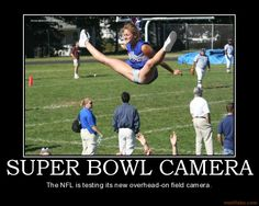 NFL is testing a new camera...
