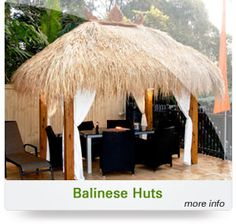 Exotic Thatch is there to offer people easiest and simplest way of building Bali Huts on their backyard. http://www.prlog.org/12410522-recommended-australian-company-to-build-bali-huts.html