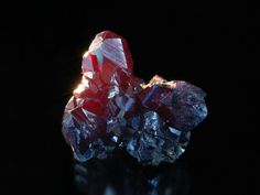 Pyrargyrite; Samson Mine, Lower Saxony, Germany