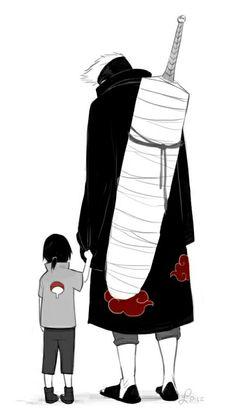 """So cute..."" ""D-don't say that, Kisame-san....."" - Makkura Murasaki"