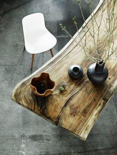 rustik tr spisebord