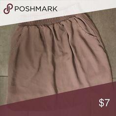 Adorable skirt with pockets! EUC Mossimo Supply Co Skirts