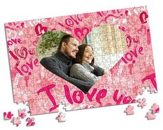 Grafica rosa per il tuo foto puzzle