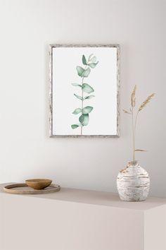 EUCALYPTUS PLANT Instant Download Print houseplant print | Etsy