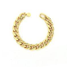 Bracciale da Donna in Bronzo giallo diamantata - € 79 Leggi tutte le caratteristiche... Bracelets, Gold, Jewelry, Fashion, Moda, Jewlery, Bijoux, La Mode, Jewerly