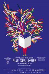Affiche Rue des Livres 2017