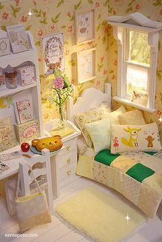 SUMMER BOUQUET Bedroom diorama | Flickr - Photo Sharing!