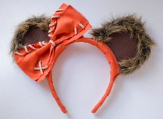 Star War's Ewok Inspired Mickey Mouse Headband
