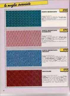 lo spazio di lilla: Collezione punti ai ferri 27 / Knitting stitches collection 27