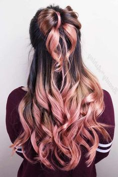 Half up half down prom hairstyles are really trendy this season. Check out our photo gallery of the most fabulous hairstyles to get inspired. #halfuphalfdownhairstyles #promhairstylesforlonghair #promhairstyles #promhair #hairstyles