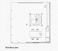 First floor plan. Japanese miniature Ryan, Raymund The Architectural Review; Jul 2001; 210, 1253; ProQuest pg. 34
