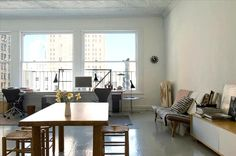 Loft Tour: Pared-Down Design in Chinatown, Solveig Fernlund and Neil Logan
