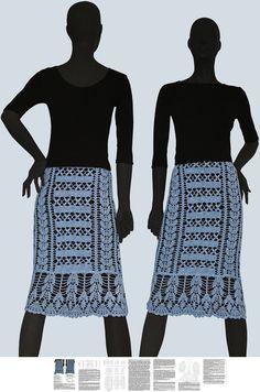 Crochet skirt PATTERN for sizes XS-4XL by JustFavoritePATTERNs