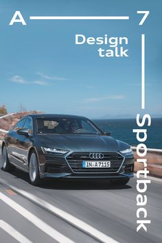Along for the ride. Audi ambassador Darren Palmer takes the Audi A7 Sportback out for a drive and talks all things innovation and style with our exterior designer, Andreas Koglin. #AudiA7 #Sportback #Unmistakable #design Audi A7 Sportback, Brisbane, Innovation, Layout, Exterior, Cars, Sports, Design, Style