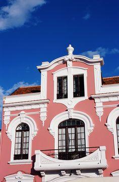 Beautiful colourful house in Aveiro, Portugal