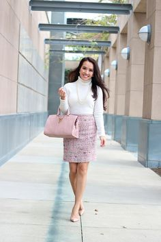 Pink Tweed and Neutrals-7 | Flickr - Photo Sharing!