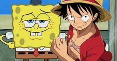 NickALive!: Viral Video Recreates One Piece's Epic Luffy Fight with SpongeBob Twist