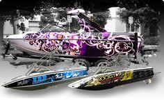 vehicle wraps boat wraps custom boats