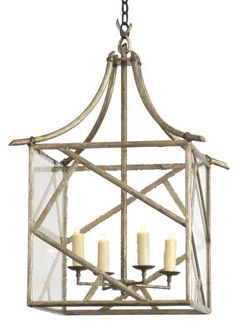 Gregorius/Pineo pagoda lantern!  I had this made for my living room in bronze. LOVE IT!