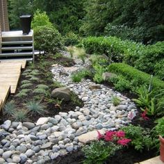 Landscaping A Dry River Bed Design, Pictures, Remodel, Decor and Ideas - 394 pics, lots of beautiful ideas.