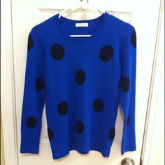 Equipment polka dot sweater final markdown Sweater in great condition.  price FIRM Equipment Sweaters