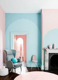 Pantone 2016 Rose Quartz et Bleu Sérénité || Dulux Valentine trends 2015