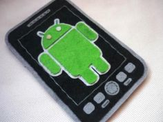 Cyber monday SALE Android felt case 25% OFF. $15.00, via Etsy.