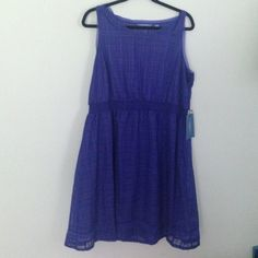 Simply Vera Kohls dress XL blue Simply Vera by Vera wang dress kohls XL Simply Vera Vera Wang Dresses Mini