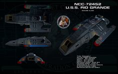 As the project logo suggests, this is the short haul workhorse of Starfleet in the latter half of the 24th century. Larger capacity and higher overall speed than a shuttle, combined with a wi...