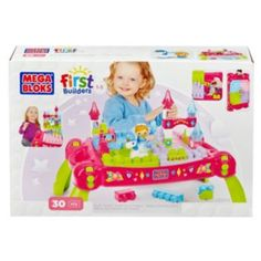 Mega Bloks Lil' Princess Play 'N Go Fairytale Table Building Set